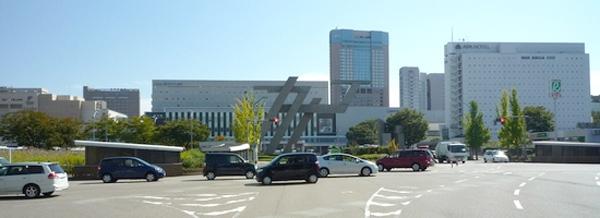 金沢駅西口から・・・